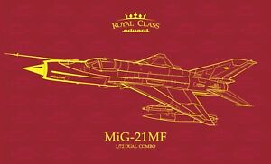 Eduard-Royal-Class-1-72-MiG-21MF-Dual-Combo-deux-avions-Model-Kit