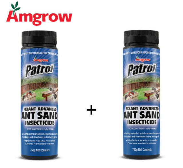Amgrow Patrol Fixant Advanced Ant Sand (2x 750g bottles included) [82075] {R}