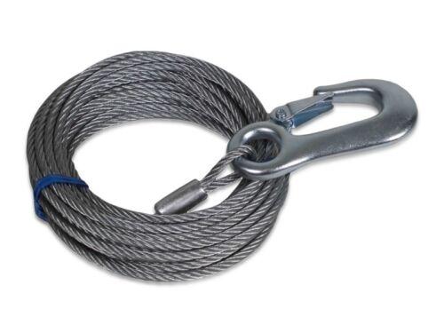 Trailerwindenstahlseil 7,5 m Winde Seilwinde LID19509 Trailerwinde 900 kg