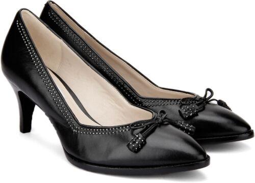 Ancient 4 Leather Rrp Clarks 37 Shoes £70 D Black heels Bombay Ladies qdwpnCSw
