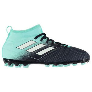 Adidas ACE 17.4 FxG Blue Football Boots Girls Boys Size UK 3 4 4.5 5 Junior