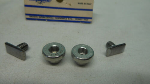 NOS 1 PAIR OF Campagnolo C Record Delta Brake shoe fixing Nut Vintage BiCYCLE