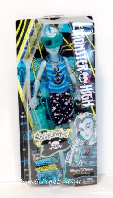 Monster High Shriek Wrecked Gillington Gil Webber Doll