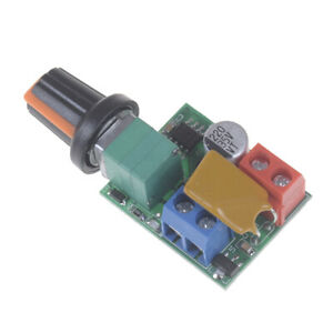 1X-Mini-DC-5A-Motor-PWM-Speed-Controller-3V-35V-Speed-Control-Switch-LED-Dimmer