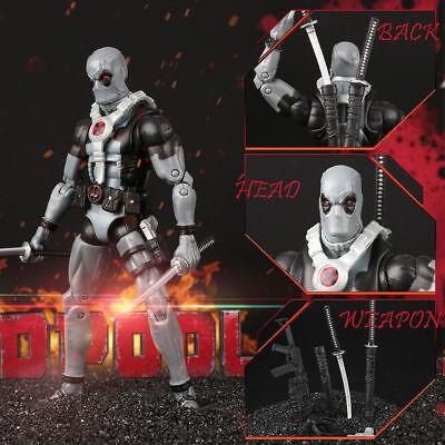 Für Deadpool Actionfigur Universum X-men Comic Serie Toy Geschenke Grau Komplette Artikelauswahl s99