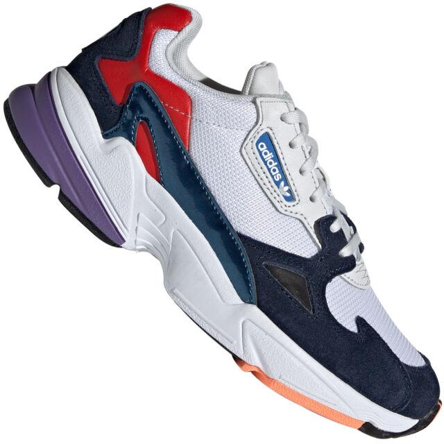 Adidas Originals Falcon Damen Trainers Shoes Running Style Retro