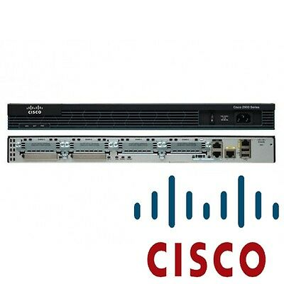 €875+IVA CISCO CISCO2901/K9 Router 2x Gigabit Ethernet, IPSec, L2TPv3 512MB  RAM | eBay