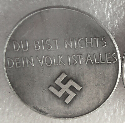 Hitler Free Coins Germany Exonumia Coin #34