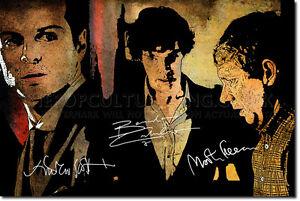 BENEDICT-CUMBERBATCH-MARTIN-FREEMAN-ART-PRINT-PHOTO