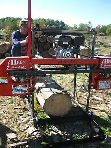 Details about 2019 HFE 30 Portable Sawmill Portable Bandmill Band mill  lumber