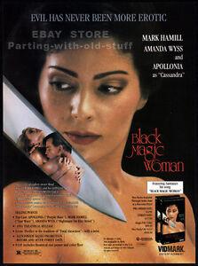 BLACK-MAGIC-WOMAN-Orig-1991-Trade-print-AD-promo-AMANDA-WYSS-APOLLONIA-KOTERO