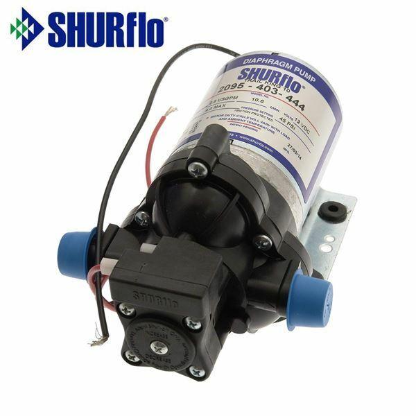 motorhome or boat Shurflo water pump