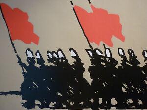 Rare-affiche-Alain-le-Quernec-1982-serigraphie-originale-Bretagne