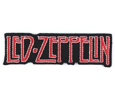 LED ZEPPELIN Rock band logo Embroidered iron on PATCH/Applique