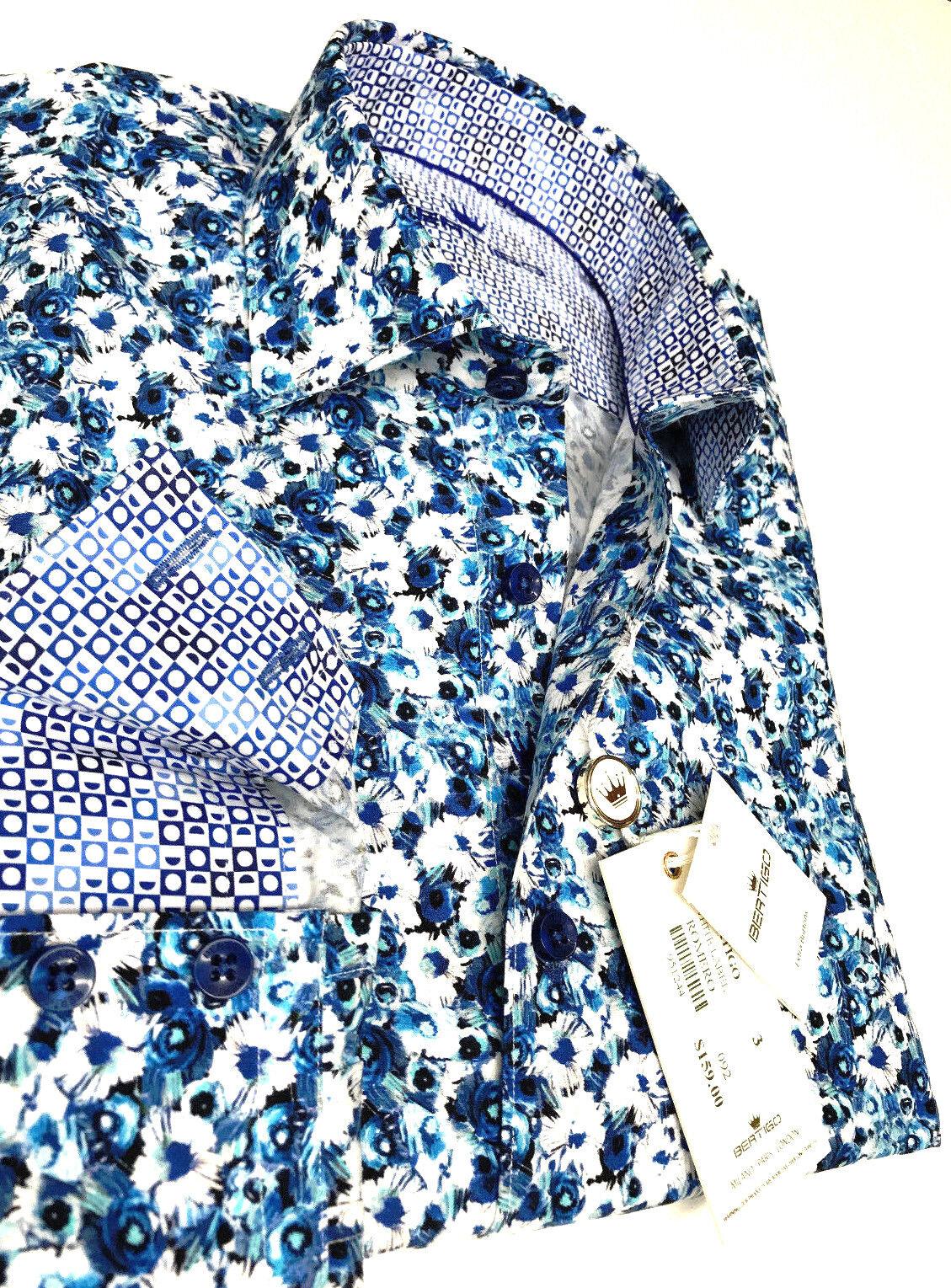 BERTIGO dress shirt ROMERO-92 ( Weiß LABEL ) NEW COLLECTION