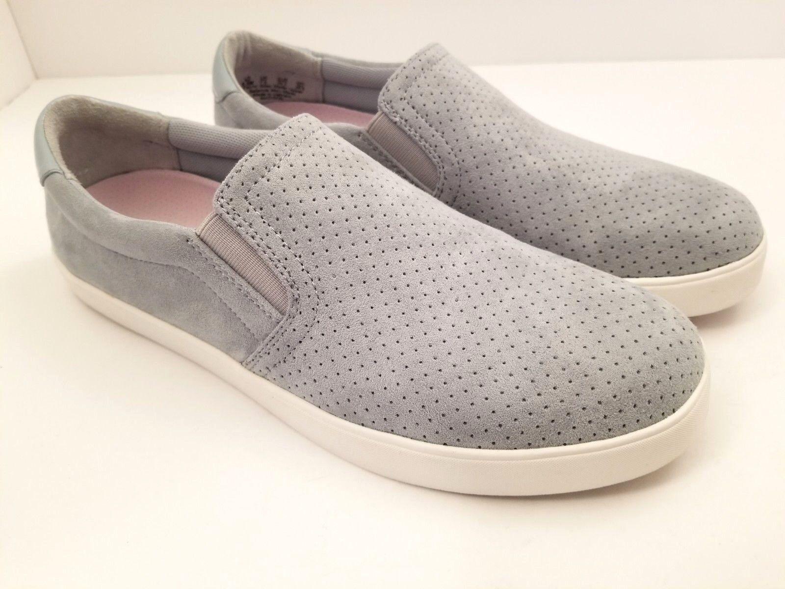 Dr Azul Scholls Madison LT lavado Azul Dr Cuero Resbalón en Zapatillas Zapatos para mujer Talla 9.5 f4c976