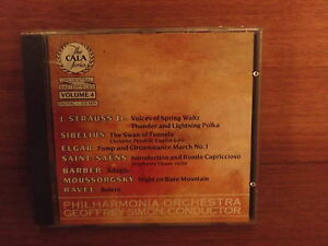 The Cala Series  Orchestral Masterpieces Volume 4  Sibeius  Elgar  CD - Wallington, Surrey, United Kingdom - The Cala Series  Orchestral Masterpieces Volume 4  Sibeius  Elgar  CD - Wallington, Surrey, United Kingdom