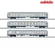 Märklin 43800-S3 Silberling-Wagenset (43800, 43810 + 43820) ++ NEU in OVP