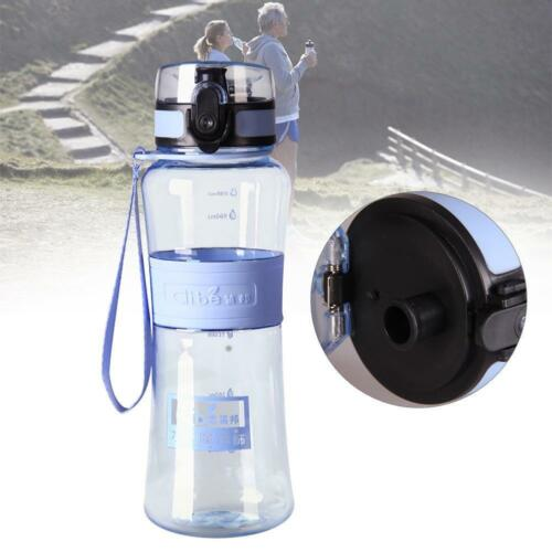 500ML Portable Fruit Infuser Travel Camping Sports Gym Water Bottle BPA Free TR