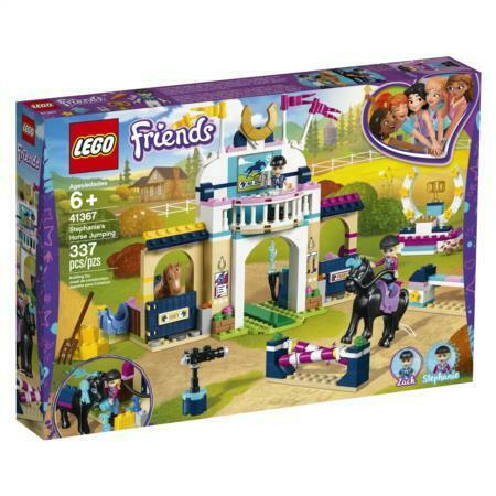 LEGO Friends Stephanie's Horse Jumping 41367 Building Kit (337 Piece)