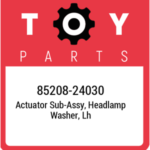 85208-24030-Toyota-Actuator-sub-assy-headlamp-washer-lh-8520824030-New-Genuin