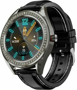 """Coulax Smart Watch, 1.4"""" Touch Screen SMARTWATCH/SMARTUHR, Fitness Tracker Step Counter"""