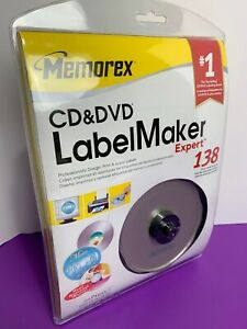 Memorex Cd Dvd Labelmaker Expert Expressit Label Design Studio New Windows 34707039476 Ebay
