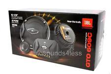 "JBL GTO 609C 540 Watts 6.5"" 2-Way Car Component Speaker System 6-1/2"" New"