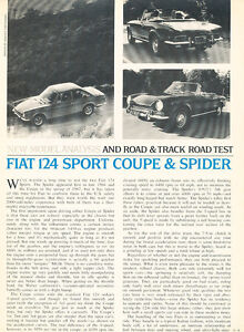 1968-Fiat-124-Sport-Coupe-and-spider-Original-Car-Review-Print-Article-J443