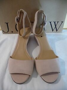 29ba08f16114 Image is loading NEW-J-CREW-LAILA-WEDGES-IN-SUEDE-E8356-