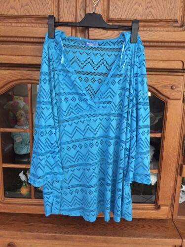 Top Costumi da bagno blu oltremare chiaro XL 2xl NUOVO Janina cuwed poiché