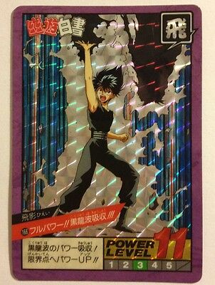 Preciso Yu Yu Hakusho Super Battle Power Level Prism 166 Fresco In Estate E Caldo In Inverno