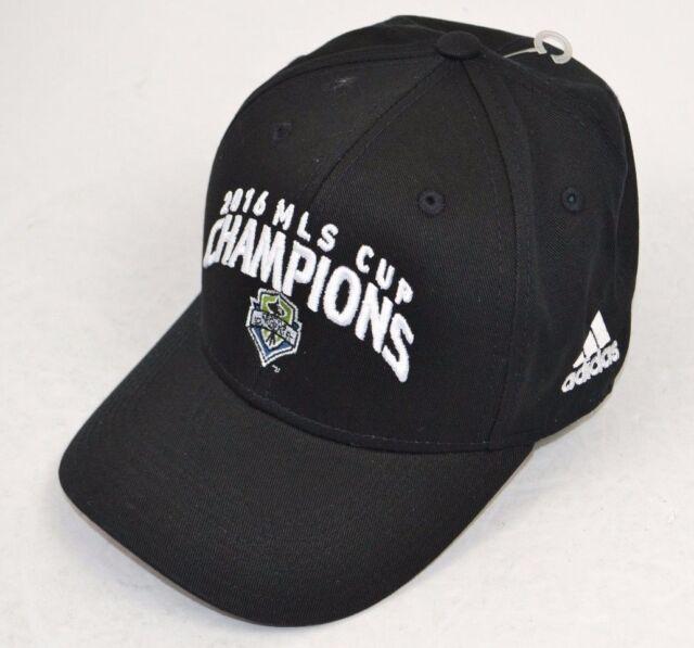 quality design 7d25a c81e4 ... new zealand mls seattle sounders fc 2016 mls cup champions boys adidas  black hat cap new