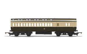 HORNBY-R4914-GWR-Clerestory-Brake-Class-Passenger-Coach-Era-2-FREE-UK-P-amp-P