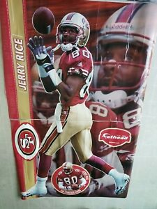 Fathead San Francisco 49ers Jerry Rice Life Size Cut Wall Graphics Rare Ebay