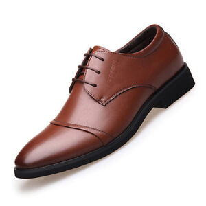7280e58b79bbe Details about Stylish Men's Casual Pointed Toe Shoes Dress Business Shoes  Plus Size US6-9.5