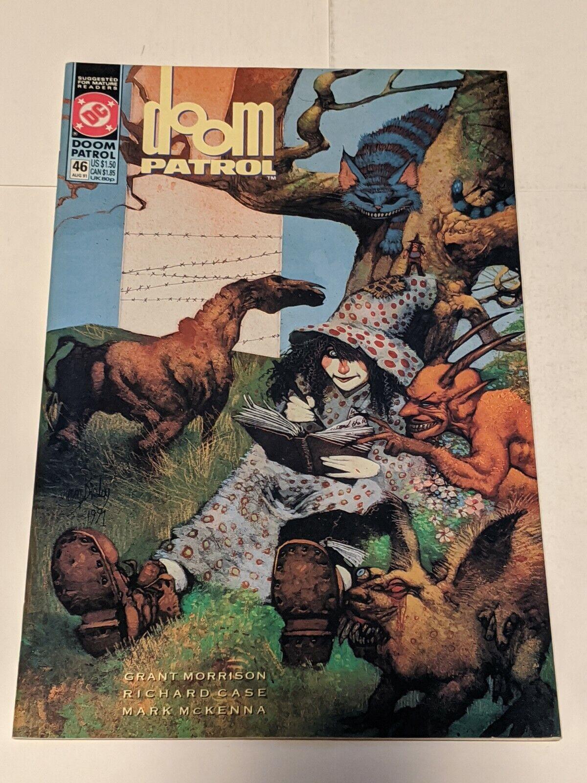 Doom Patrol #31 April 1990 DC Comics Morrison Case Nyberg