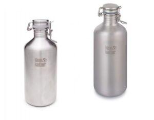 Klean-Kanteen-Growler-Edelstahl-Swing-Lok-Trinkflasche-Edelstahl-Flasche