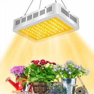 Spectrum Lamp Hydroponics White Led Light Full 1000w Grow Warm Plant MjVLqUzpSG