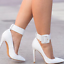 Womens-Pointed-Toe-Ankle-Strap-Party-Evening-Plus-Stiletto-High-Heel-Pump-Shoes thumbnail 5
