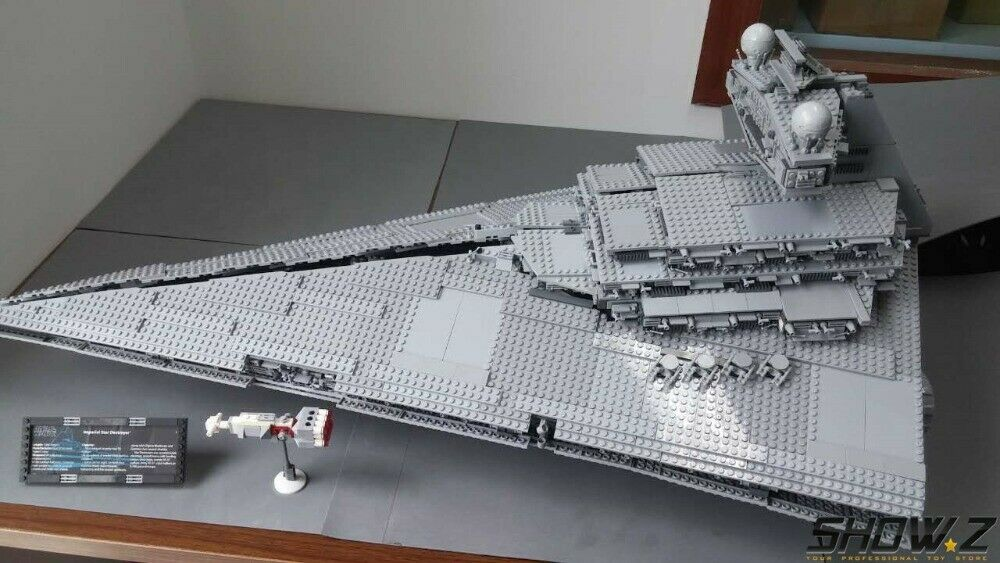 Lego 10030 10030 10030 star destroyer complete with manual, lightly used b07064