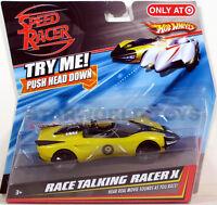Hot Wheels Speed Racer Race Talking Racer X Mattel Movie Sounds Target