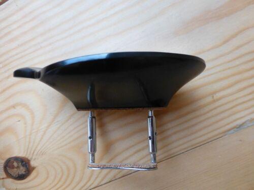 Ebenholz Violine Kinnauflage mit korkigen Klemme aus UK Strobel Model 4//4