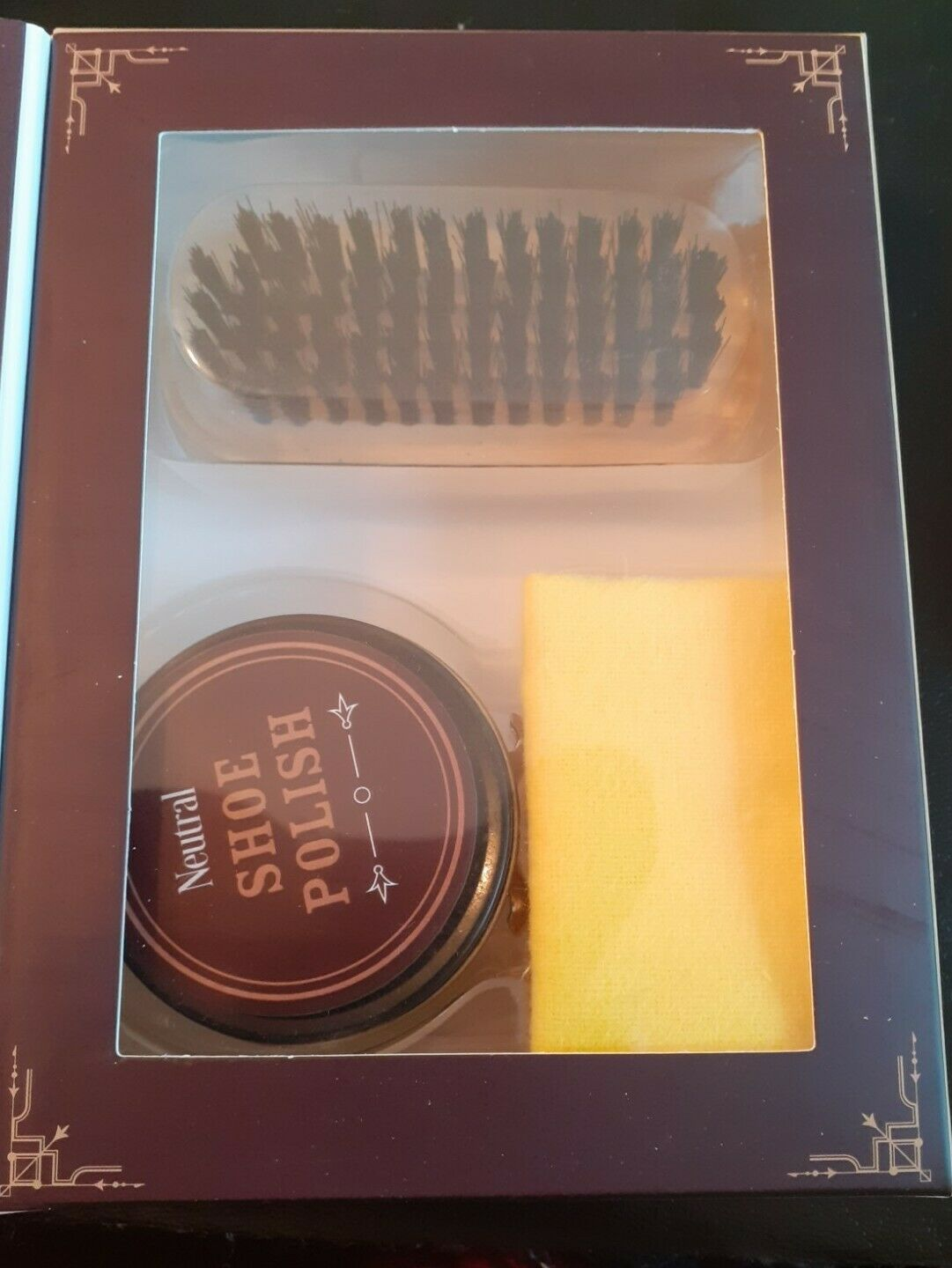 Father's Day Gift - Leather Shoe Cleaning Kit - 3 pieces