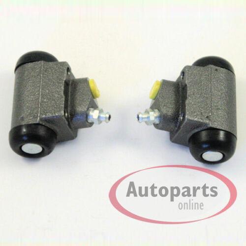 Opel Corsa B Bremstrommel Bremsen Set mit ABS Ringe für hinten Hinterachse