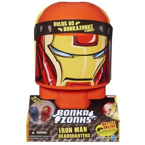 Nouveau Hasbro bonkazonks Marvel Iron Man Siège Carte 2 2 Figures détient 80