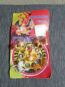 Vintage-Pokemon-pocket-monster-figurine-charizard-mew-vulpix