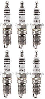 New Bosch 4005 Platinum Plus Spark Plug (Set of 6)