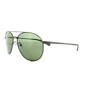 5b565709a08 Image is loading Police-Sunglasses-S8953-Rival-2-0627-Gunmetal-Green