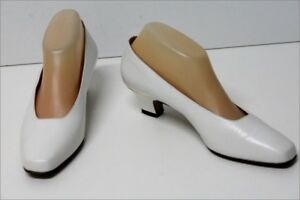 In Vintage Pelle Celine 38 Scarpe 5 Be T Bianco aZSywRq